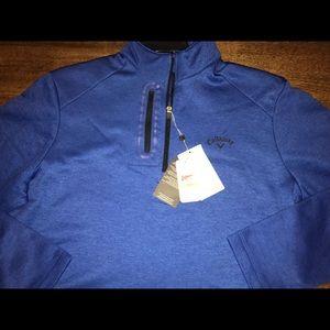 Callaway Men's 1/2 Zip Golf Pullover Size Medium
